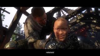 Kingdom Come Deliverance. Boss fight versus Runt, the bandit leader (Longsword fight).