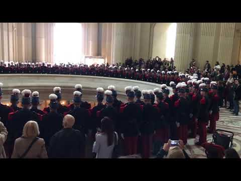 Les Invalides Napoleon's Tomb Induction Ceremony