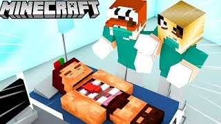 ROBIMY OPERACJĘ W MINECRAFT!! (Minecraft Symulator Operacji) | VITO i BELLA