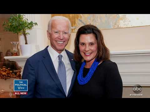 Gov. Gretchen Whitmer Discusses If She'd Consider Being Joe Biden's Running Mate | The View