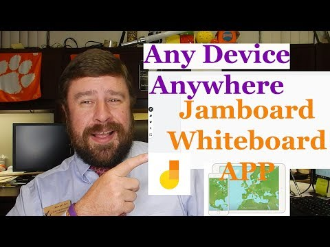 Free Virtual Whiteboard Google Jamboard App | Works On ANY Device
