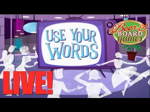 Live USE YOUR WORDS with Jason, Aaron, and Matt