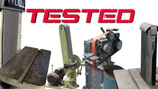 Belt Grinder Performance Testing