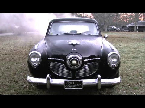 1951 Studebaker Cold Start.