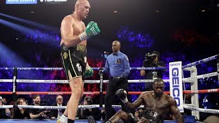 Tyson Fury Knocks Out Deontay Wilder to win WBC Heavyweight Championship