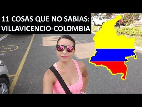 11 COSAS QUE NO SABIAS DE VILLAVICENCIO - COLOMBIA