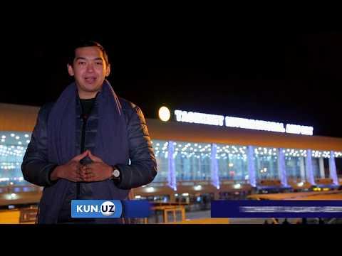 Toshkent aeroportidagi yashil va qizil yo`laklar