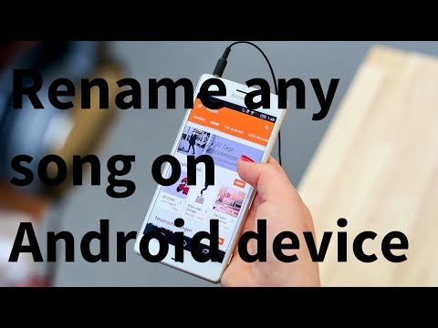 Rename Songs on Android Tutorial