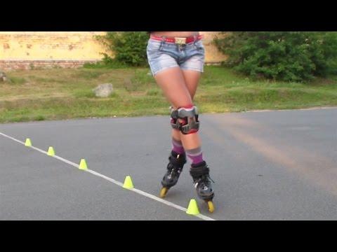 Кикбэк (Kickback) и Катбєк (Cutback) на роликах. Урок 23