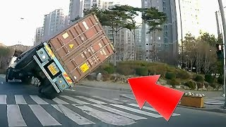 Stupid Truck Drivers Compilations 2018 - These Truck Drivers are Cazy