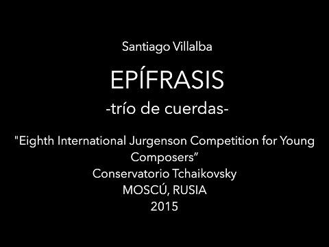 Epífrasis - Conservatorio Tchaikovsky, Rachmaninov Hall - 2015