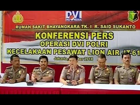 Polri Percepat Identifikasi Korban Lion Air JT-610 Mp3