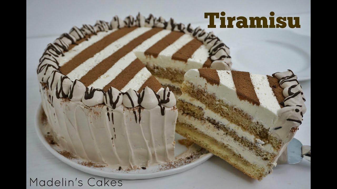 Pastel Tiramisu Receta  Exquisita