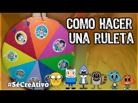 ruleta magnetica reciclada en español