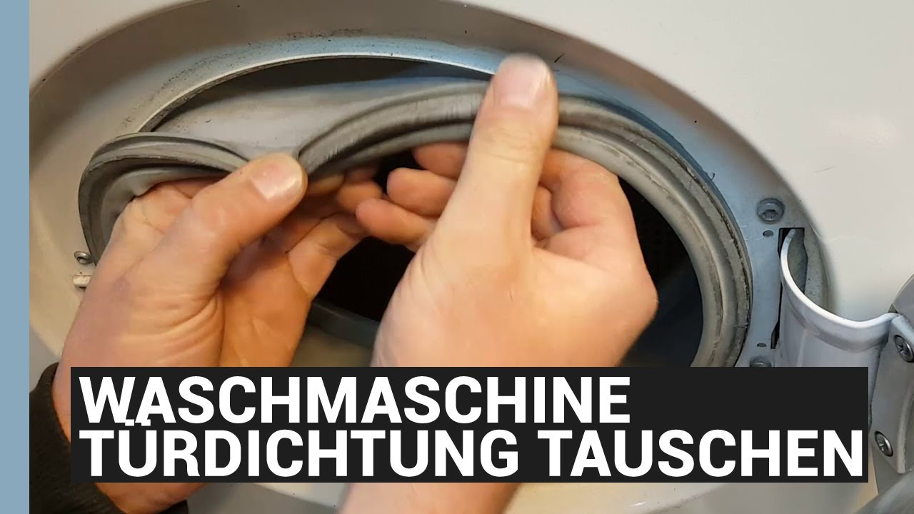 WASCHMASCHINE MANSCHETTE WECHSELN - BOSCH TÜRDICHTUNG TAUSCHEN - eBikeundSo