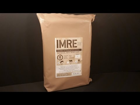 Thumbnail: 2015 Czech I-MRE Lightweight Military Ration Pack Review Army Food Military Ready Meal Tasting Test