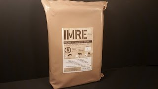 2015 Czech I-MRE Lightweight Military Ration Pack Review Army Food Military Ready Meal Tasting Test
