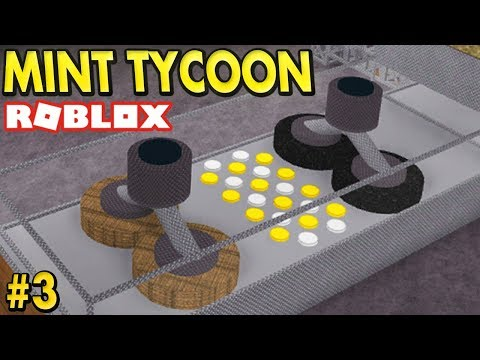 Making SILVER AND GOLD Coins in Mint Tycoon - #3 (Roblox)