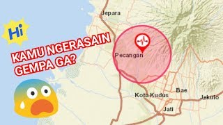Download Video TERASA GEMPA DI JEPARA DAN KUDUS! MP3 3GP MP4