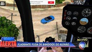 Rebaixados elite Brasil ! VIDA DE POLICIA ! FUGA PORSHE RENATO GARCIA NO HELICÓPTERO DA POLÍCIA