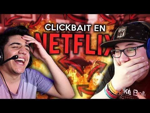 SI EXISTIERA EL CLICKBAIT EN LAS SERIES DE NETFLIX ft Lauti Vera