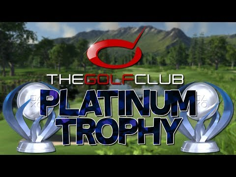 The Golf Club Platinum Trophy (Ace)