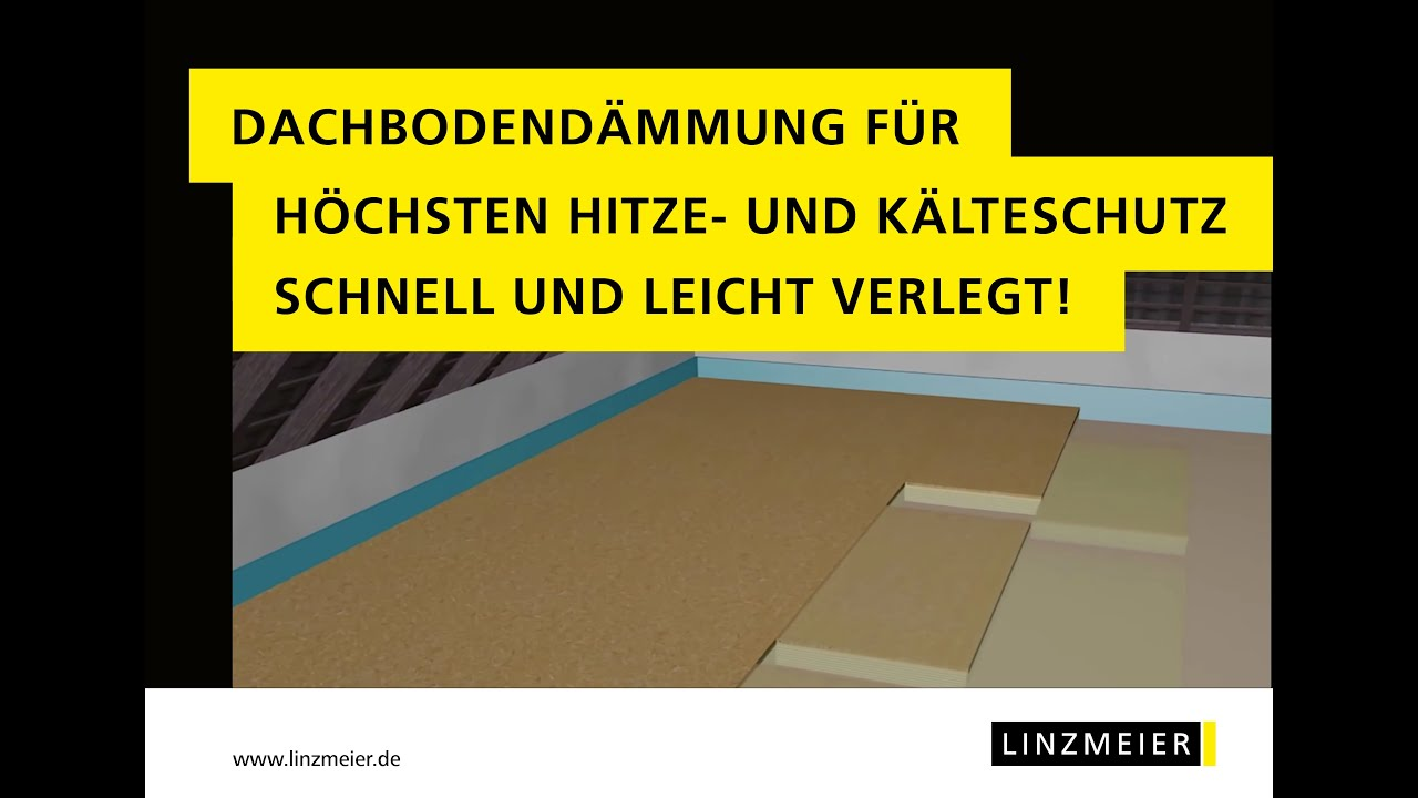linzmeier dachbodend mmung mit linitherm p osb youtube. Black Bedroom Furniture Sets. Home Design Ideas