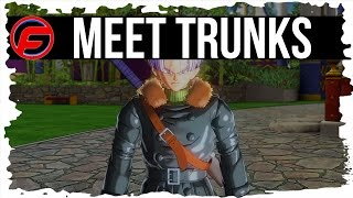 Dragon Ball XenoVerse Walkthrough Part 2 MEETING TRUNKS Power Time Gameplay Strategy Guide