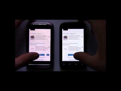 HTC Explorer vs HTC Wildfire S