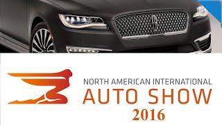Lincoln MKZ, Acura Precision, Lincoln Continental, Porsche 911 2017 - Детройт Авто-Шоу...