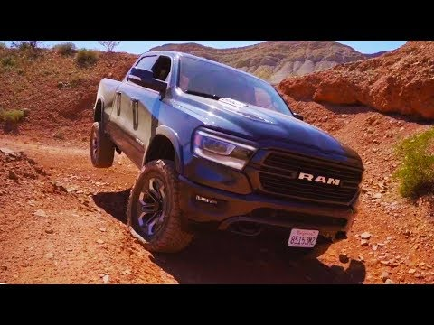 """6"""" LIFTED 2019 RAM 1500 Offroad   Blows Out a Tire Sidewall"""