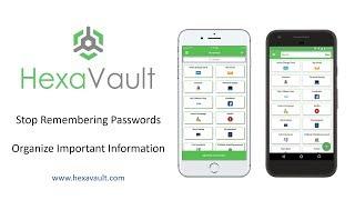 HexaVault Password Manager
