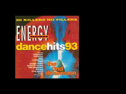 Various Artists - Energy Rush Presents: Dance Hits 93 (The 2nd Dimension) front cover
