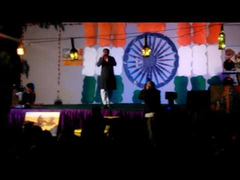 Shahid Raza Jawaharlal Nehru University  Mujhe ishq h  tujhi  se
