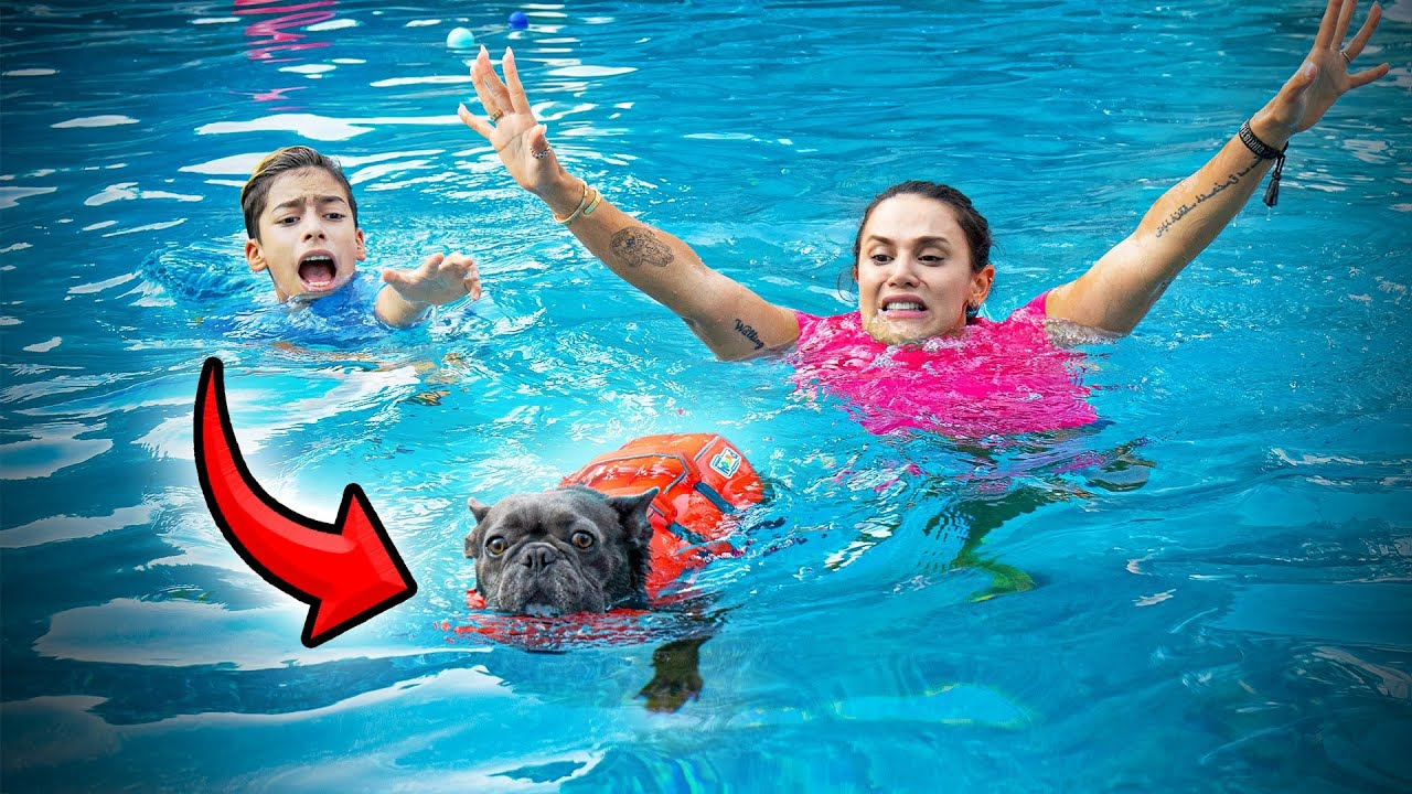 Download Our PUPPY Almost DROWNED... | The Royalty Family