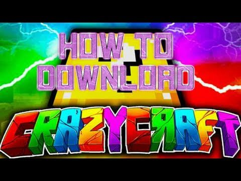 HOW TO DOWNLOAD CRAZY CRAFT 3.0 (VERY EASY)