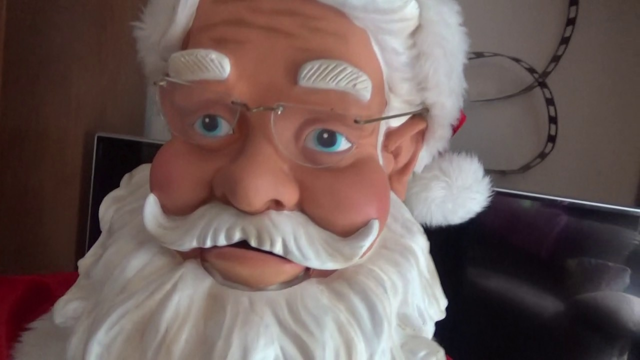Full review gemmy animated life size dancing santa
