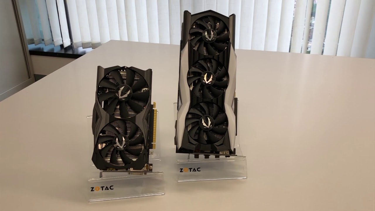 ZOTAC GAMING GeForce RTX 2070 MINI Quick Unboxing - Small and Strong