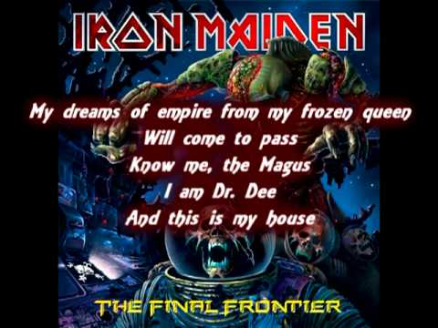 Iron maiden The Alchemist Lyrics subtitled(The Final Frontier)