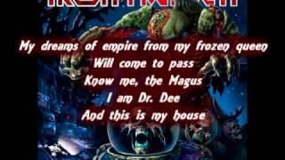 Iron Maiden The Alchemist Lyrics Subtitled The Final Frontier