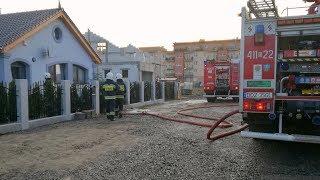 Dzierżoniów, pożar instalacji gazowej  w domu jednorodzinnym