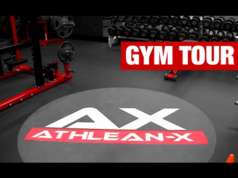 ATHLEAN-X Gym Tour (STEP INSIDE!)