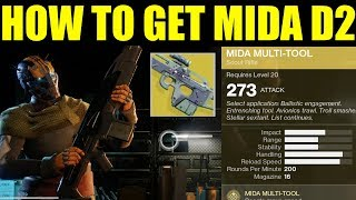 Destiny 2 - How To Get The Mida Multi-Tool Exotic Scout Rifle