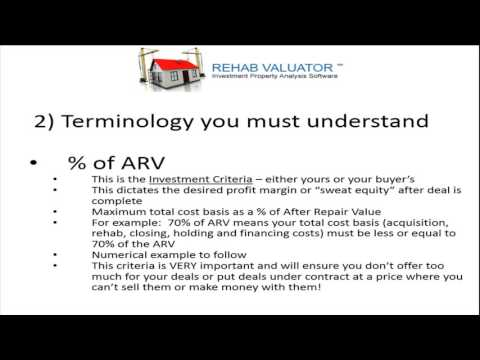 Real Estate Wholesaling: What is it? Terminology And How to Determine Offers!