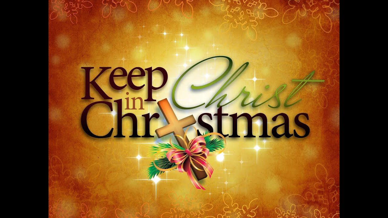 Why We SHOULDN\'T Keep Christ In Christmas - YouTube