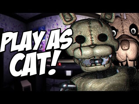 Five Nights at Candys 2 Simulator: Part 3 - PLAY AS CAT AND RAT! NEW ANIMATRONICS!