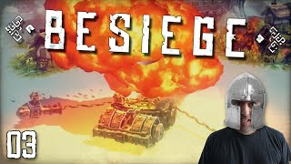 "BESIEGE Gameplay Part 3 - ""MEXICAN SHEEP TORNADO!!!"" 1080p PC Gameplay Walkthrough"