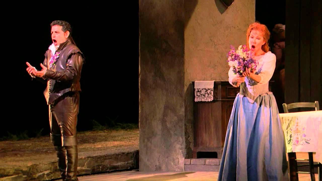 """La Donna del Lago: """"Cielo! in qual estasi"""" (DiDonato, Flόrez)"""