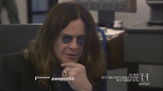Ozzy Talks About Randy Rhoads And Hears Unheard Crazy Train Master Tape 2016