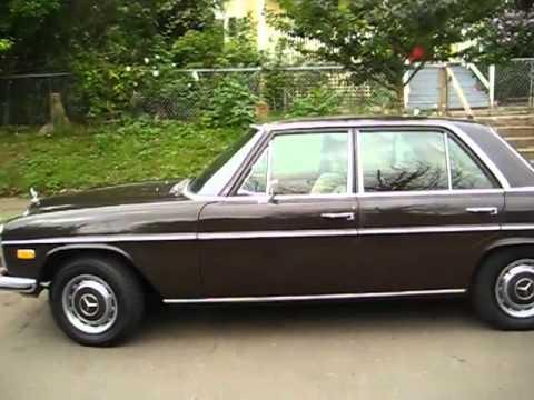 1973 mercedes 220d NoPo Portland #1 - YouTube